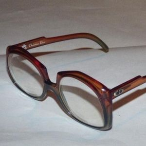 Dior Pinkish Brown Plastic Frame
